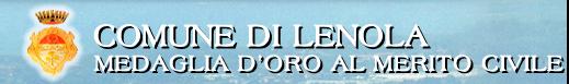 Comune di Lenola - sito web ufficiale dell'Amministrazione comunale